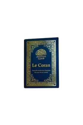 """LE NOBLE CORAN DE POCHE """"11 x 15 cm"""" (ARABE-FRANCAIS)"""