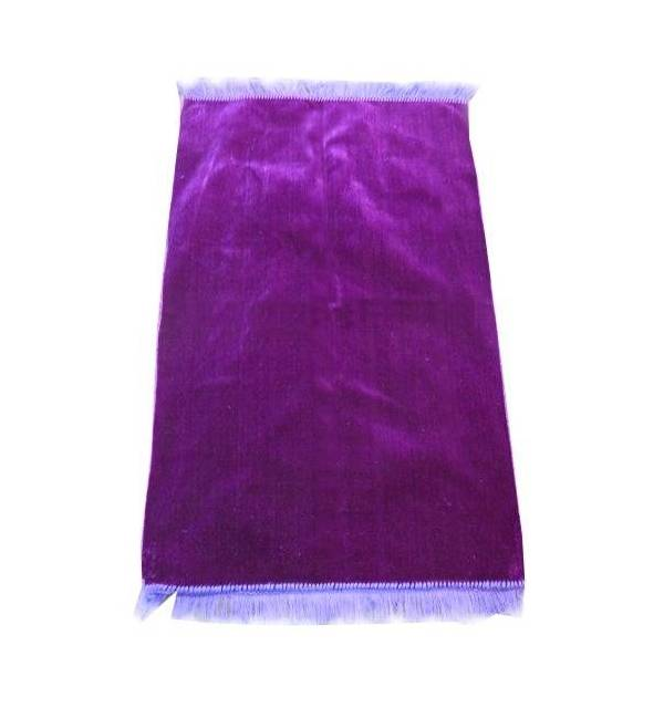 tapis de priere en velours couleur uni bismillah boutique. Black Bedroom Furniture Sets. Home Design Ideas