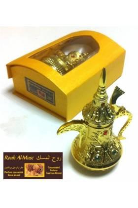 Flacon Musc Blanc concentré - Parfum mixte (18 ml)