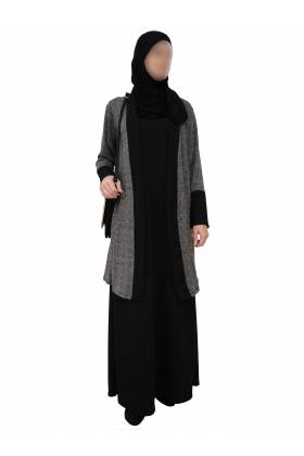 ENSEMBLE 2 PIECES (Robe + gilet)