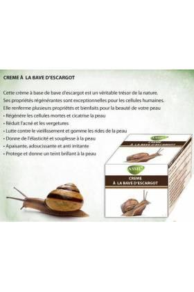 Crème à la bave d'escargot- ASSIL-