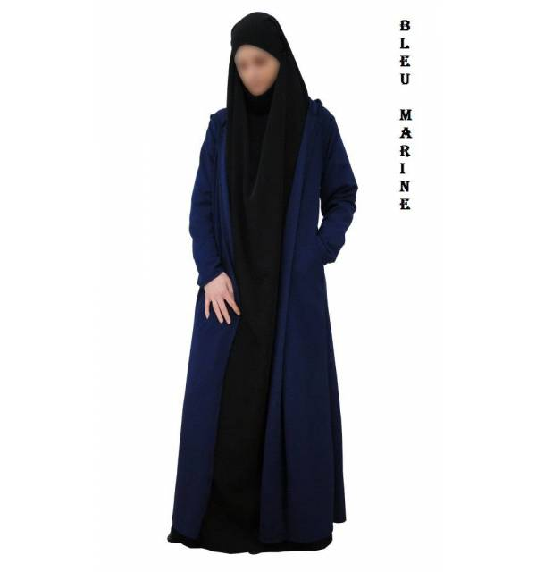 "GILET EXTRA LONG ""CAPUCHE"""