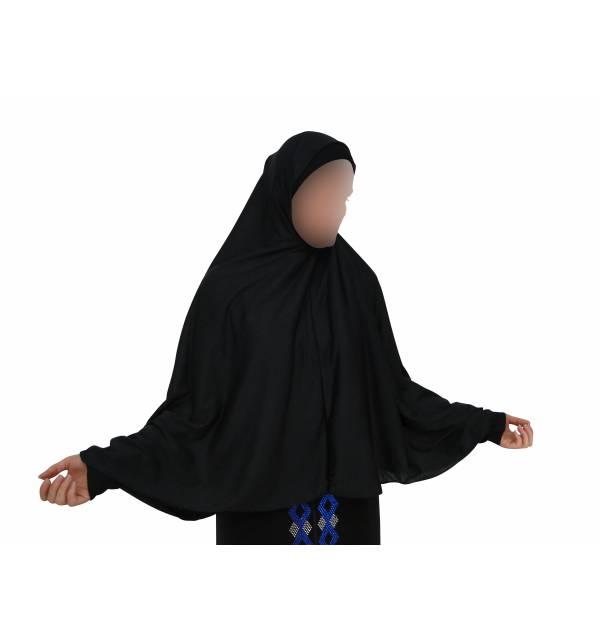 Hijab 1 pièce coton