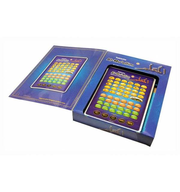 Al-Muallim 3 : Grande Tablette électronique pour l'apprentissage de l'arabe et du Coran (français / arabe) -