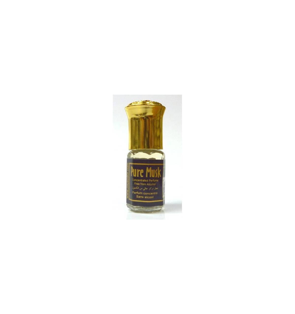 parfum concentre sans alcool pure musk 3 ml mixte. Black Bedroom Furniture Sets. Home Design Ideas