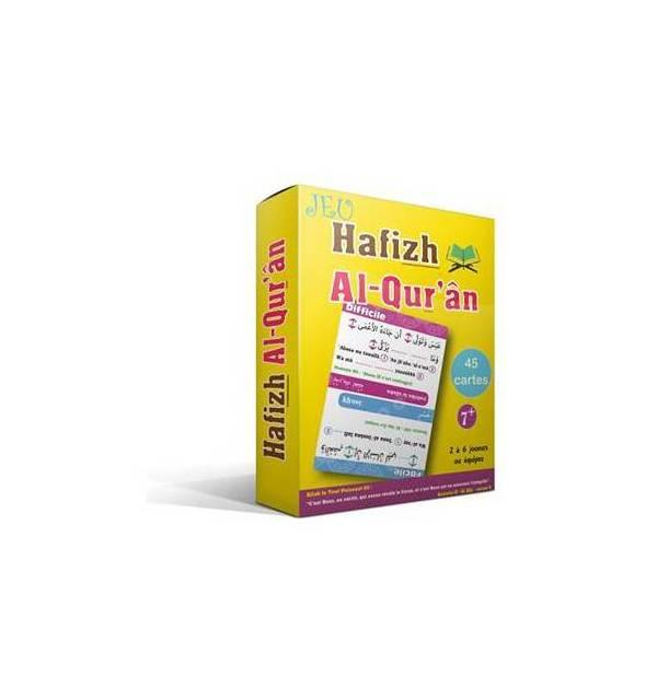 Jeu : Hâfizh Al-Qur'ân (Jeu de société autour du Coran : 2 à 6 joueurs - 8 ans et plus)