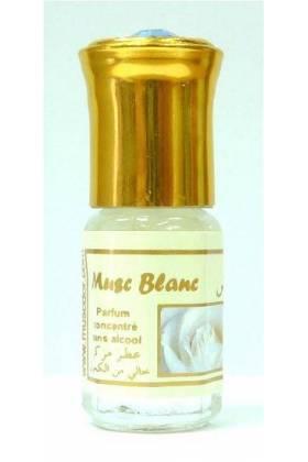 """Parfum concentré sans alcool Musc d'Or """"Musc Blanc"""" (3 ml) - Mixte"""