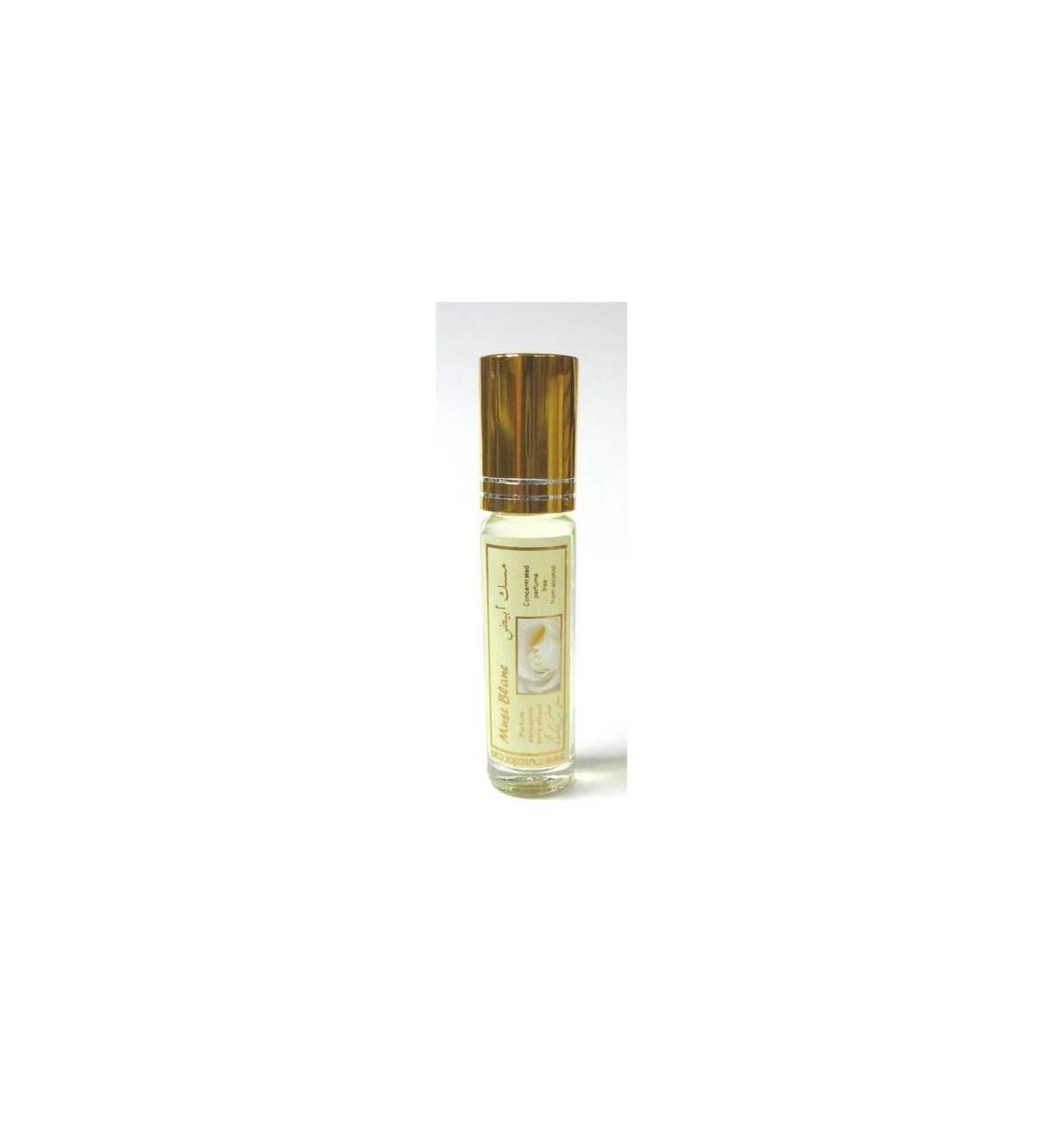 parfum concentr sans alcool musc d 39 or musc blanc 8 ml mixte bismillah boutique. Black Bedroom Furniture Sets. Home Design Ideas