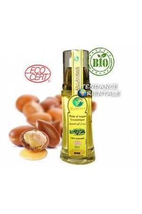 HUILE D'ARGAN BIO ECOCERT 60ml spray - ARGANAWA