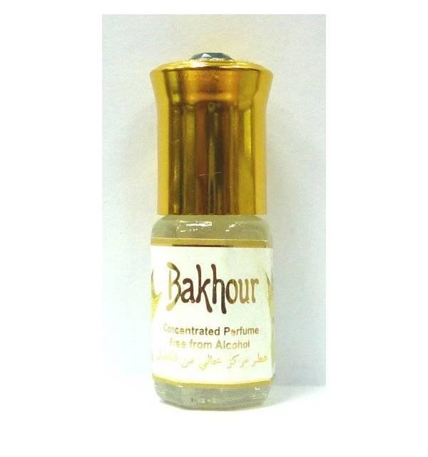 """Parfum concentré sans alcool Musc d'Or """"BAKHOUR"""" (3 ml) - Homme-"""