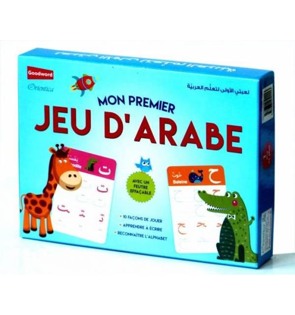 Mon Premier Jeu D'arabe (Avec Feutre Effaçable) - لعبتي الأولى لتعلم العربية