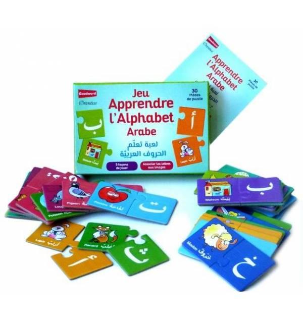 Jeu d'association : Apprendre l'alphabet arabe - لعبة تعلم الحروف العربية