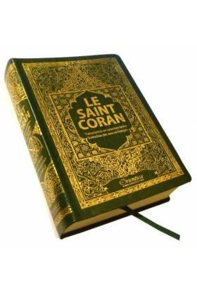"""LE NOBLE CORAN DE POCHE """"12,5 x 17 cm"""" (ARABE-PHONETIQUE-FRANCAIS)"""