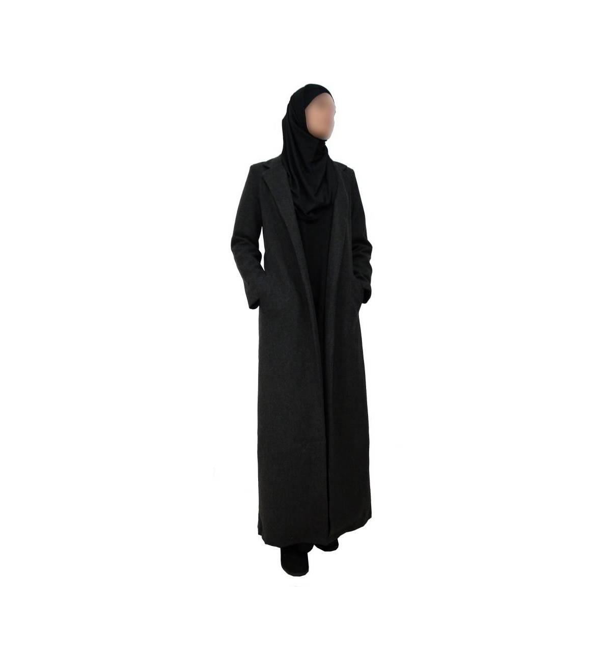 meilleure sélection 4ab7c 95179 LONG MANTEAU - Bismillah Boutique