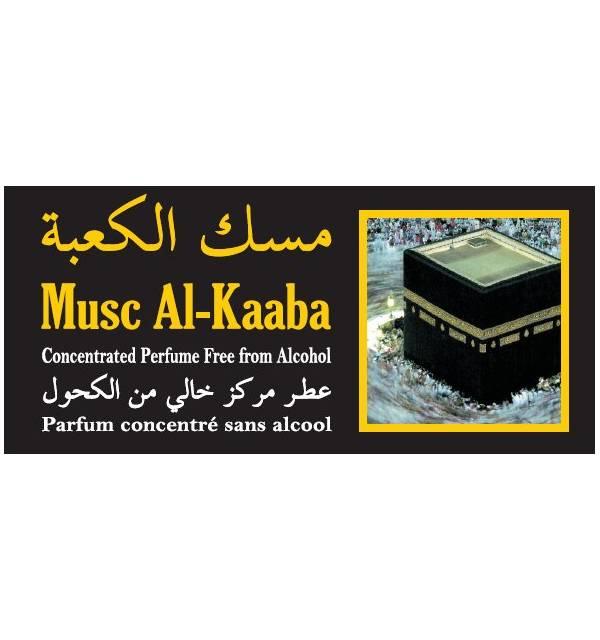"""Parfum concentré sans alcool Musc d'Or """"Musc Al-kaaba"""" (3 ml) - Homme-"""