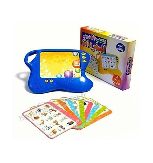Tablette Electronique Jeu de Cartes Apprendre la Langue Arabe pour Enfants