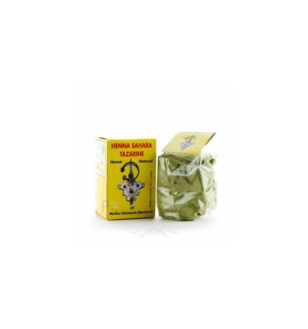 HENNA SAHARA TAZARINE  (boite jaune) 100GR
