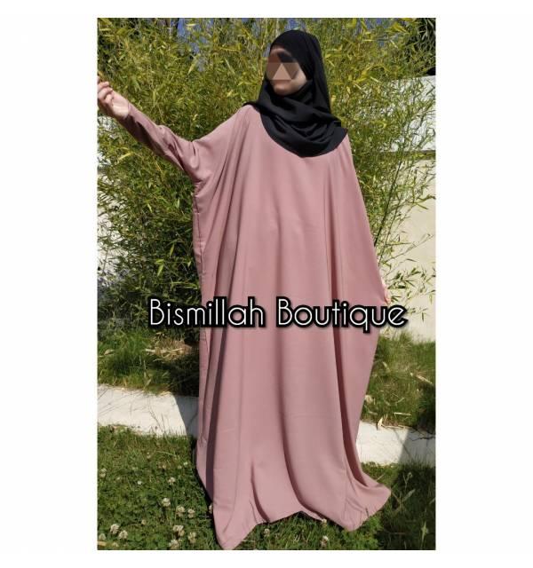 Abaya Ishane Papillon (Wool peach)