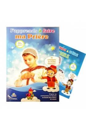 Pack CD et Livre : J'apprends à faire ma Prière (Pour garçon)