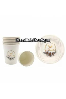 Vaisselles Eid Mubarak