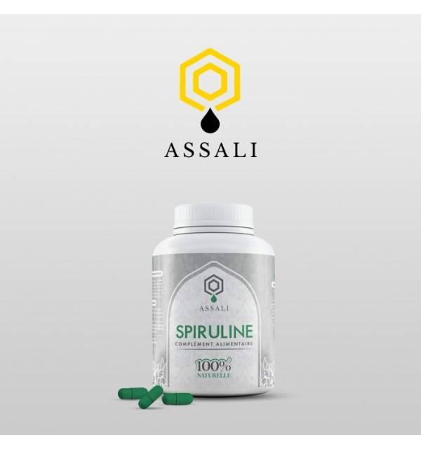 Gélule Spiruline 100% naturelle - Assali - (Flacon 60 gélules)