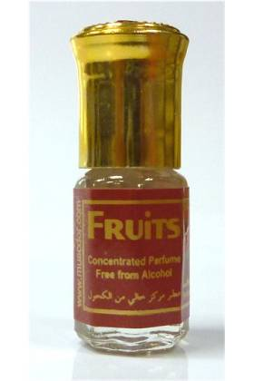 "Parfum concentré sans alcool Musc d'Or ""FRUITS"" (3 ml) - Mixte"