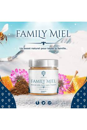 FAMILY MIEL - 250 grs -
